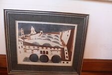 JULIAN TREVALYAN PONTE VECCHIO LIMITED EDITION ETCHING PART OF FLORENCE SERIES