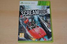 Screamride Xbox 360 UK PAL Scream Ride **PLAYABLE ON XBOX ONE**