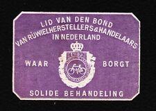 VINTAGE CINDERELLA Netherlands Bicycle 1903 Tape Remnant I