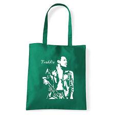 Art T-shirt, Borsa shoulder Freddie Mercury Queen, Verde, Shopper, Mare