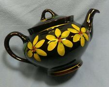 Royal Canadian Art Pottery Tea Pot~ Pretty Yellow Flowers!