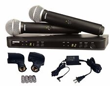 Shure BLX288/PG58 Dual Channel Handheld Vocal Wireless Microphone System H10