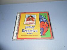 "Cd-Rom Educational :Carmen Sandiego"" Junior Detective. ages 5-8"