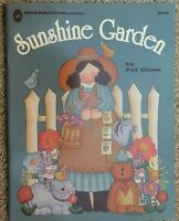 Sunshine Garden By Pat Olson Decorative Tole Painting Instruction Book Vtg 1995