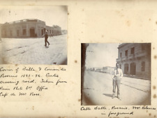 Argentina, Rosario  Vintage citrate print. Series of photos presenting a trip ac