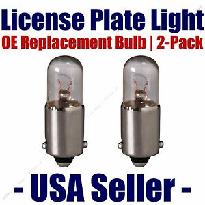 License Plate Bulb 2pk OE Replacement Fits - Listed Land Rover Vehicles - 3893