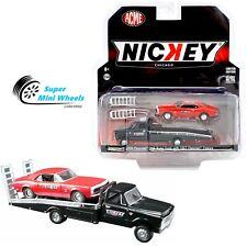 ACME x Greenlight 1/64 Nickey Chevrolet C-30 Ramp Truck & '67 Chevrolet Camaro