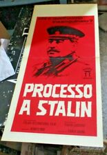 Trial A Stalin Plakat Original 1963 Fulvio Lucisano