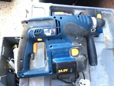 Ryobi CRH240RE 24v SDS Hammer Drill 2x Batteries charger case. Dead Batteries
