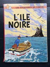 Tintin album: L´ile noire 1966