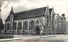 Euston. St Mary Magdalenes Church, Munster Square by J. Eversfield, Hampstead Rd