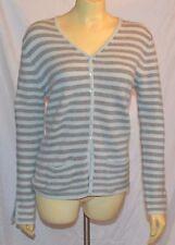 Iris  Von  Arnim  switzerland  Cashmere  Cardigan  Sweater  Size L stuning
