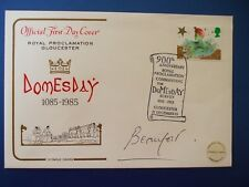 1985 ROYAL PROCLOMATION GLOUCESTER FIRST DAY COVER SIGNED THE DUKE OF BEAUMONT