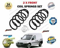 FOR VAUXHALL OPEL COMBO 1.3 1.7 CDTI 16V 2001 > NEW 2 X FRONT COIL SPRINGS SET