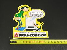 Autocollant sticker BD GASTON LAGAFFE FRANCO BELGE 1985