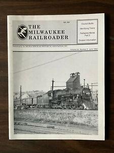 Milwaukee Road Railroader June 1992 Council Bluffs Iowa Fairbanks- Morse Part 2