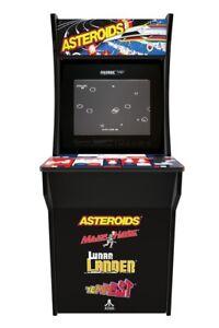 Multi-Game Arcade Cabinet with Asteroids - Major Havoc - Lunar Lander - Tempest