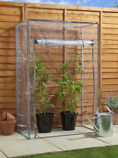 Garden Outdoor Tomato Greenhouse with PVC Cover New Outdoor Growhouse
