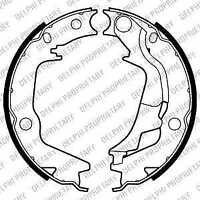 Delphi Lockheed Brake Shoe Set LS2011 - BRAND NEW - GENUINE - 5 YEAR WARRANTY