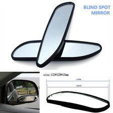 Car 1 Pair Clear Wide Angle Adjustable Rearview Side Blind Spot Convex Mirror