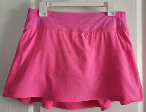 VGUC Lululemon Pace Rival Skirt Dark Prism Pink (?) Size 8