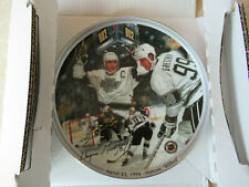 "Great Moments in Hockey ""Wayne Gretzky 802 Plate""-Historic 802nd March 23, 1994"