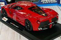 OFFICIALLY LICENSED LAFERRARI FERRARI RED MAISTO 1/18 DIECAST MODEL CAR NIB NEW!