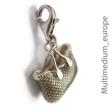 Thomas Sabo Silber Charms Anhänger Tasche Emaille silver enamel 🌺🌺🌺🌺🌺