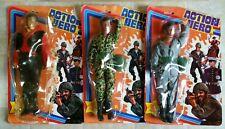 """ACTION HERO Vintage KO GI Knockoff Joe 12"""" 70s 80s Figure Lot & Original Package"""