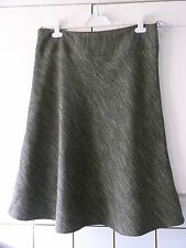 LADIES BROWN MIX CALF LENGTH LINED SKIRT SIZE 16