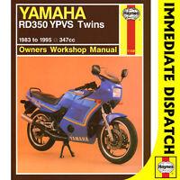 [1158] Yamaha RD350 YPVS Twins 1983-95 Haynes Workshop Manual