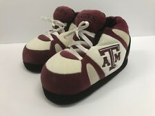 Texas A&M Aggies Wild Cats Comfy Feet Unisex Sneaker Slippers Size L Winter