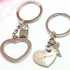 Art design True Love Metal Key Chains Couple Keychain Rings Keyfob Valentine