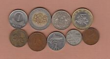 More details for nine latvia & lithuania coins 1922 to 2008 in fine to near mint condition.