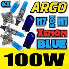 H7 T10 H1 100w SUPER Azul Xenon Mejora Faro Bombillas Set Base Luz De Cruce