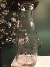 Quart DAIRYMEN'S LEAGUE Co-operative Association Dairy Bottle