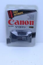 NEW Canon Snappy K Date 35mm Black Camera 1990s Sealed New Never Opened