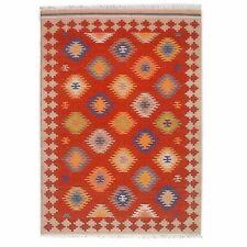 Hand-Woven Tribal 5x8 Anatolian Kilim Turkish Oriental Large Area Rug 5' x 8'