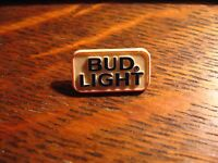 Bud Light Beer Lapel Pin - Vintage Budweiser 1980's USA Logo Anheuser Busch Pin