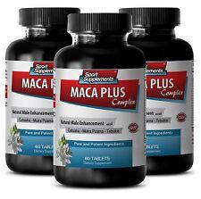 Tribulus Terrestris 1000 - Maca Plus Complex 1275mg - Prostate Supplement 3B