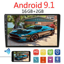 Double 2Din 10.1inch Android 9.1 Quad Core Car Radio Stereo GPS 4G 2G RAM