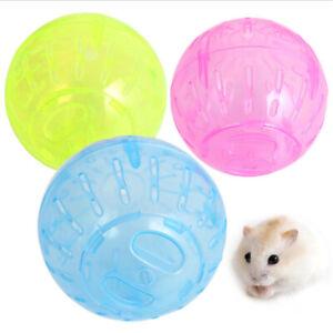 1PC 10cm Hamster Exercise Ball Plastic Running Ball Toy for Dwarf Hamster