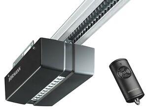 Hormann ProMatic Garage Door Opener Operator Series 4 BiSecur + Rail + Remote
