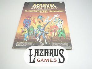 Marvel Super Heroes: The Fantastic Four Compendium (TSR 6889, MA4)