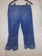 Duck Head Stretch Women's Capri Blue Jeans Size 10 NWOT
