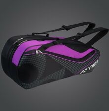 YONEX 6 Tennis/8 Badminton Racket Racquet Bag 8726EX, Black/Purple, 2017 New