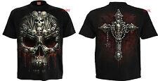 Espiral Directo Nuevos Diseños Calavera/Dragon/REAPER/Rock/Metal/Halloween/T Camiseta/Top