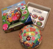 Ravensburger MOSHI MONSTERS 72 piece 3D JIGSAW PUZZLE BALL  IMMACULATE Xmas Gift