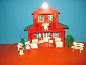 Lego Fabuland Haus MOC Hotel Ristorante (nicht katalogisiert)