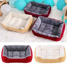 Warm Pet Dog Cat Bed Arctic Velvet Puppy Cushion Non-Slip S M L Xl Dog House